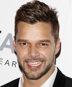 Ricky Martin Hairstyle 2014