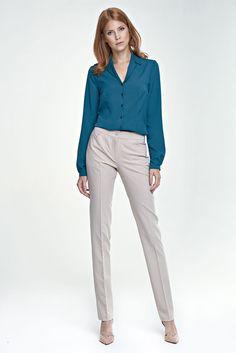 e4cb96bdbdaf Pantalon femme beige droit chic haute qualité NIFE SD25 36 38 40 42 44   Tailleurhabill