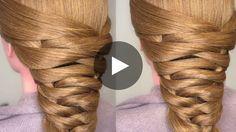 Easy Bridal Tier Braid Hair Tutorial - For Ansley Half Updo Hairstyles, Braided Hairstyles Tutorials, Pretty Hairstyles, Braid Hair Tutorials, Girly Hairstyles, Amazing Hairstyles, Hairstyles 2016, Men's Hairstyle, Medium Hairstyles