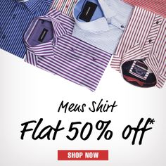 Don't miss this chance to shop at provogue.com with special offers on select shirt range