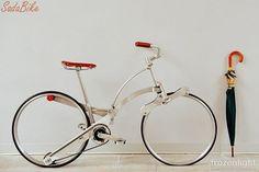 折りたたみ自転車に革命を。「SADA BIKE」スポークがない新発想