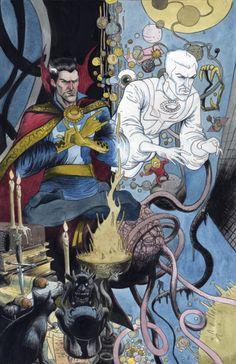 Doctor Strange by Farel Dalrymple