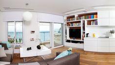 The Bourne Identity: majhno stanovanje, veliko rešitev za shranjevanje   Stavbe in stanovanja