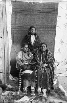 Oglala Women - 1891
