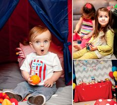 Whimsical Dr. Seuss First Birthday Party {Oh What Fun!}