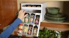 YouCopia SpiceStack® Spice Racks Organizer for Kitchen Cabinets