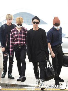 BTS at Incheon Airport Heading to Manila-Philippines [160902]