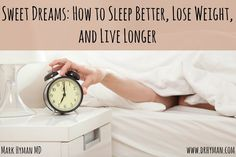 YOU CAN LOSE WEIGHT without changing what you eat or doing one minute of exercise! It's a bold claim. And don't get me wrong: Nutrition and exercise are important! But there's another key to weight loss – and most people don't even know about it. It's sleep. In fact, besides eating whole foods and moving …