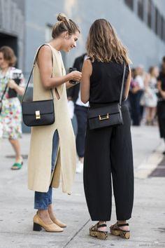 Parisienne: Side Split Sweater
