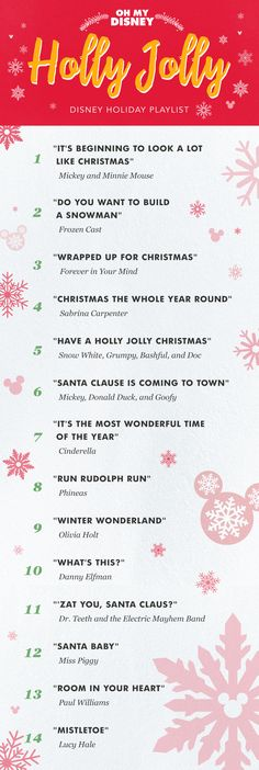 This Holly Jolly Disney Holiday Playlist Will Fill You With Cheer   Oh My Disney   Music Phineas made the list! Out of all the Christmas songs Disney has done, Phineas made the list!!!