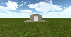3D #architecture via @themuellerinc http://ift.tt/2n18zQ0 #barn #workshop #greenhouse #garage #DIY