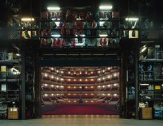 Hamburg State Opera, Hamburg | 15 Photos Of What Actors See When They're Onstage