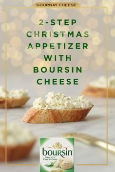 Whether you're hosting an elegant soiree or a last-minute get together, nothing brings out the flavor of the season like Boursin cheese. Pair with a baguette and your favorite wine to make merry moments even brighter.