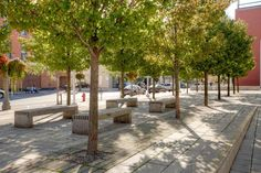 Civic Square in Welland, Canada by Janet Rosenberg & Studio. Click image for full profile and go here for more great plazas>> http://www.pinterest.com/slowottawa/plaza/