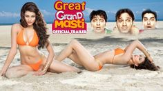 Great Grand Masti Trailer Out,Great Grand Masti Official Trailer ,Great Grand Masti Official Trailer HD Video,great grand masti release date Hindi Movies 2016, New Hindi Movie, Movies Box, Hd Movies, Grand Masti, Download Free Movies Online, In And Out Movie, Film Watch, Comedy Films
