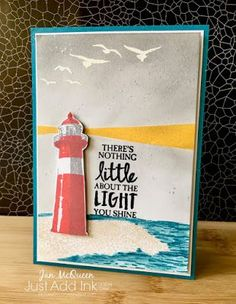 Card using Stamoin Up's High Tide stamp set by Jan McQueen. More info @ www.janscreativecorner.blogspot.com