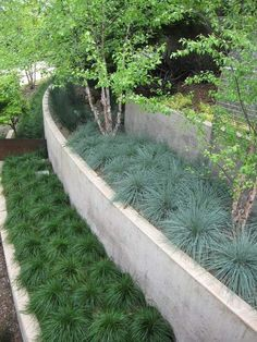 garten am hang gestalten - eine üppige bepflanzung auf mehreren, Garten und Bauen