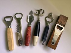 Assorted lot of 6 Bottle/Can Openers/Kitichen Utensils