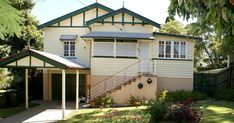 Welcome to fun and vjs - the story of our Queenslander renovations Queenslander House, Australian Homes, Home Renovation, Brisbane, Shed, Happiness, Outdoor Structures, Fun, Blog