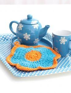 Corner-to-Corner Dishcloth   Yarn   Free Knitting Patterns   Crochet Patterns   Yarnspirations
