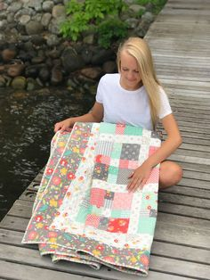 Harmony: a finished quilt for Haley