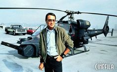 Blue Thunder - Publicity still of Roy Scheider. The image measures 630 * 390 pixels and was added on 27 February Film Blue, Military Helicopter, Military Jets, Gi Joe, Cops Tv, Roy Scheider, Spaceship Design, Model Ships, Boxing