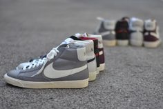 Nike Blazer Vintage Leather – Fall 2012    must add new one to my collecshun