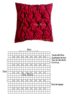 drapeado Smocking Tutorial, Smocking Patterns, Crochet Stitches Patterns, Textile Manipulation, Fabric Manipulation Techniques, Bed Cover Design, Sewing Crafts, Sewing Projects, Canadian Smocking