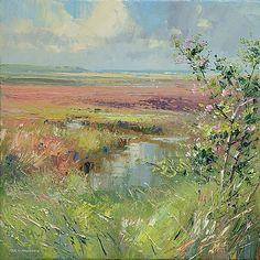 """Rex Preston - """"Wild Roses, Thornham Marshes, Norfolk"""""""