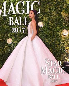 Maymay Entrata #StarMagicBall2017 Star Magic Ball Gowns, Prom Gowns, Wedding Gowns, Oscar Dresses, Formal Dresses, Filipina Actress, Arab Fashion, Fall Birthday, Oscars