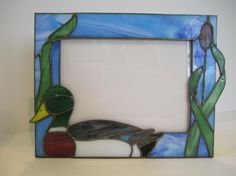 Mallard Picture Frame by GriffithDesigns on Etsy, $65.00