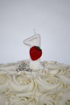 1 pc little baker script gold glitter cake topper for birthday pretend play cook theme