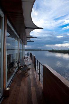 Luxury boat hotel by Jordi Puig, Peru