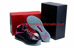 reputable site f5075 a3e92 Lebron 10 Glow in the Dark Miami Nights Black Cherry Lebron Shoes For Sale,  Nike