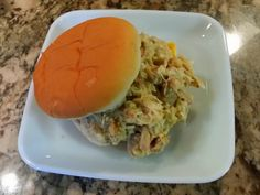 Tom's Ohio Shredded Chicken Sandwiches | Beariatric --  Most Buckeyes are familiar with the shredded chicken sandwich. It makes an appearance at most small town football and basketball concession stands, as well as, festivals and arts and craft shows. It is definitely not a delicacy concocted from fine ingredients. It is one of those plain old Midwestern comfort foods that can be easily whipped up by just about anyone.
