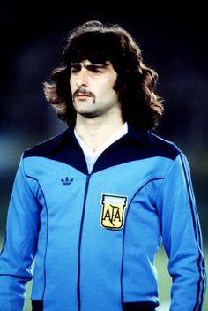 """Mario """"El Matador"""" Kempes, Argentinian super striker."""