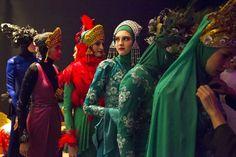Desfile de moda islámica en Malasia