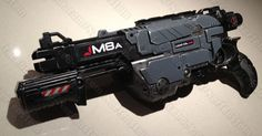 Mass Effect Nerf Praxis blaster gun by *GirlyGamerAU