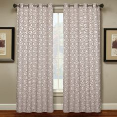 Spencer Home Decor Circle Geo Curtain