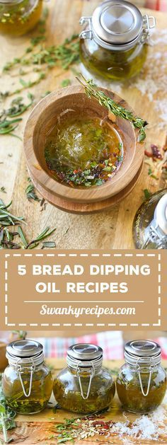 Super easy bread dipping oil recipes to serve for a simple appetizer.  Elevate your next party or dinner with these simple to prepare dipping oils made with Bellucci EVOO.  Recipes include Italian Bread Dipping Oil, Garlic Bread Dip, Tuscan Herb, Herb de Provence and Restaurant Style Dipping Oil.  Pair with a crusty loaf of bread for an easy appetizer.  Bottle the dipping oil and give as a gourmet gift for the foodie in your family. #ad