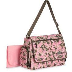 Duck Dynasty Duck Commander Baby Diaper Bag in Pink Camo Camo Diaper Bags, Duck Commander, Duck Dynasty, Pink Camo, Louis Vuitton Damier, Shoulder Bag, Brown, Pattern, Kids