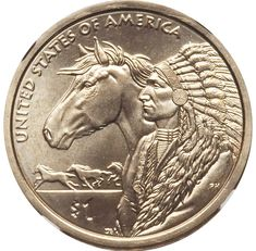 2012 P Sacagawea Native American Dollar Value Native American Headdress, Native American Artwork, Native American History, American Dollar, American Coins, Rare Coins Worth Money, Valuable Coins, Sacagawea Dollar, Commemorative Coins