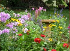 Small Flower Gardens invisible flower bed borders for natural and beautiful garden