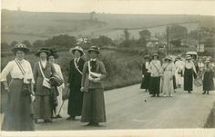 Mid Sussex Suffragist rally July 1913