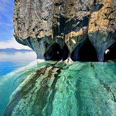 Marble Caverns, Carrera Lake, Chile