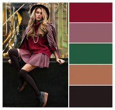 Бордо-коричневый