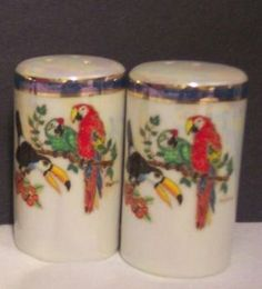 Salt and Pepper Shakers - Pearl