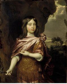 Portret van Wolfert van Brederode (1649-1679), Jan Mijtens, ca. 1663, Collectie Mauritshuis