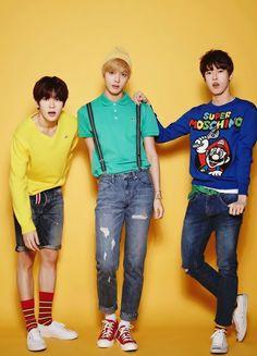 NCT Jaehyun, Hansol and Doyoung