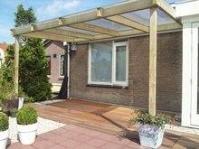 Compleet dakpakket voor overkapping terras of veranda